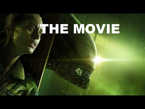 Alien: Isolation - The Movie / Game Story Movie / HD 1080p