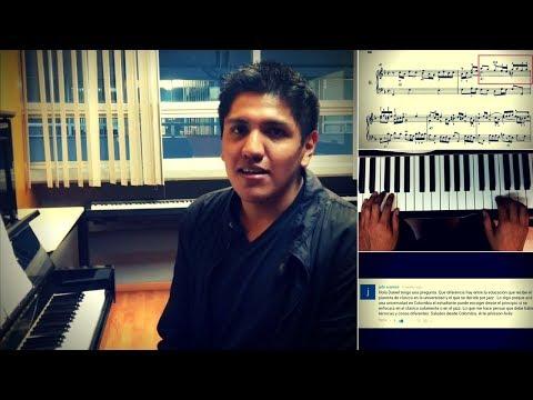 Preguntas y respuestas! - Adornos y articulación en Bach, estudiar Jazz Vs. música académica