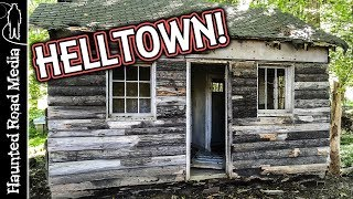 Helltown Urban Exploration! Abandoned Homes and Roads