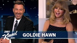 Goldie Hawn on Quarantine with Husband Kurt Russell & Their Kids and Vegas with Elvis in the 70's