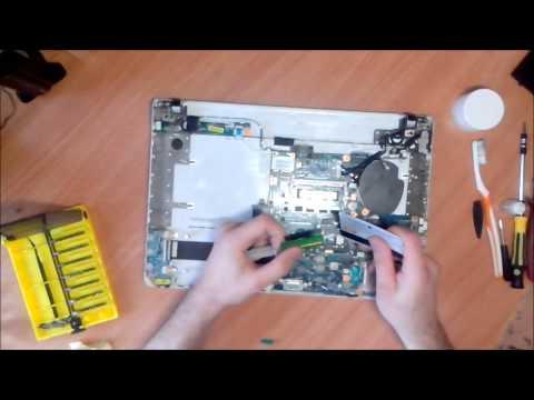 разборка и чистка ноутбука Sony Vaio