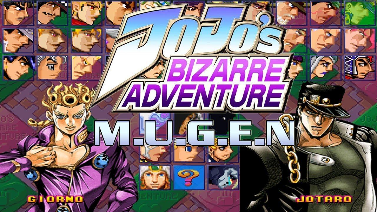 JoJo's Bizarre Adventure M U G E N 1 1 (Beta 2) Golden Wind Edition -  DOWNLOAD 2019
