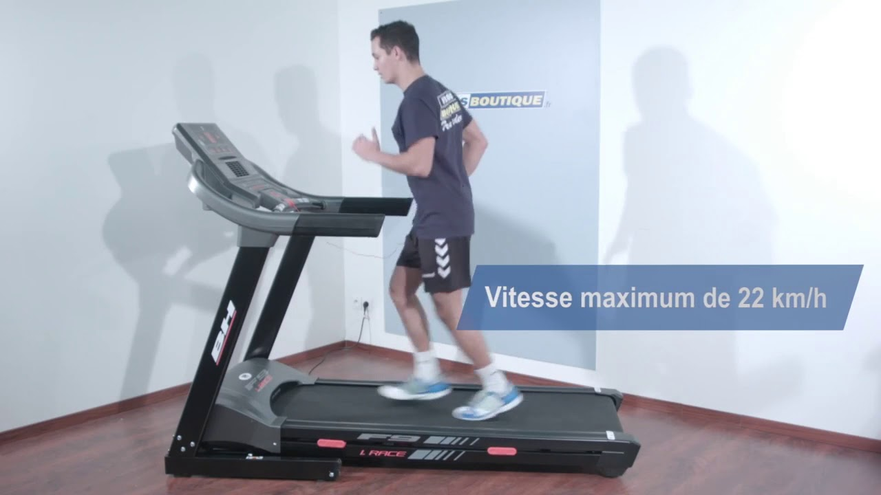 Tapis De Course Bh Fitness F9 I Race Youtube