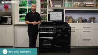 Falcon CDL110DFBL-CH Freestanding Dual Fuel Oven Stove Overview - Appliances Online