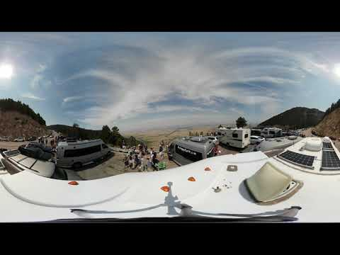 360 Video 4k Total Solar Eclipse Casper Wyoming 2017 Part 3/5