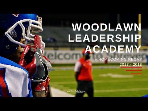Woodlawn Leadership Academy Football Homecoming Recap 2017 -2018