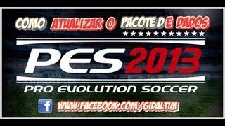 Pro Evolution Soccer 2013-Como Atualizar o Pacote de Dados