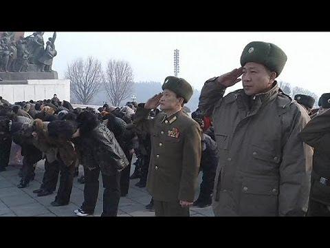 مراسم هفتاد و دومین سالگرد رهبر پیشین کره شمالی