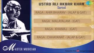 Master Musician | Ustad Ali Akbar Khan | Sarod | Hindustani Classical Instrumental Audio Jukebox