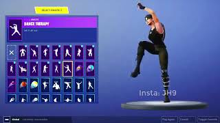 "*NEW EPIC* ""Dance Therapy"" emote LEAKED! Fortnite Battle Royale 5.30 Leaked emote!"