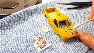 Gambar cover How-to custom puller truck ( water slide decals & front axle ) part 5