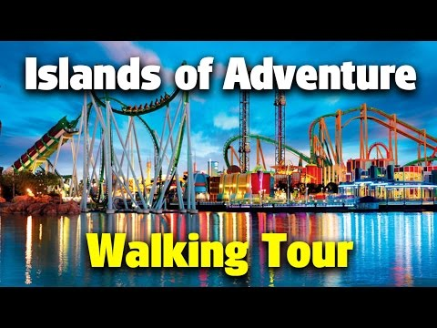 Islands of Adventure Walking Tour   Universal Orlando Resort