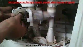 Mesin Cuci 2 Tabung Pengering Tidak Berputar Air Keluar Terus