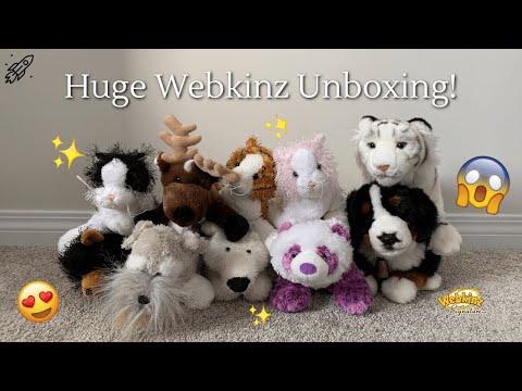 Huge Webkinz Unboxing! (#3)
