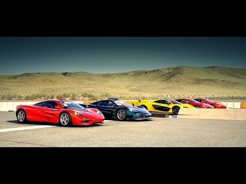 World's Greatest Drag Race! FASTEST McLaren's All in One Race | Forza Motorsport 6