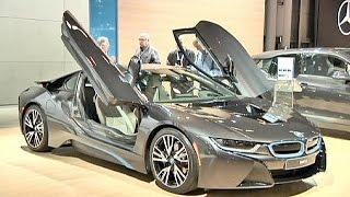 Al salone dell'auto di New York sfrecciano lusso e tecnologia - economy