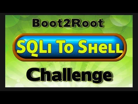 Boot2Root Challenge - SQL Injection to Shell - Manual SQLi
