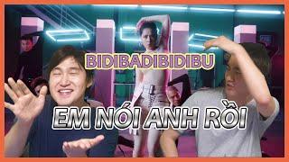 [CHI PU - EM NÓI ANH RỒI] Người Hàn xem VPOP-Phản ứng - vpop reaction (#BIDIBADIBIDIBU)
