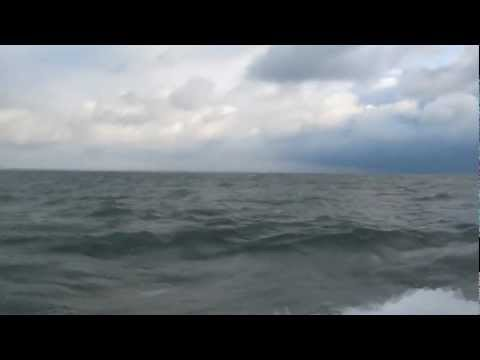 "Pursuit 3000 Express - ""Testing The Windshield Wipers' - Lake Erie"