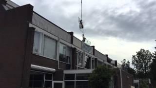 Haarlem Ramspol isolatieglas plaatsen met Hulster Transport en Containerservice BV