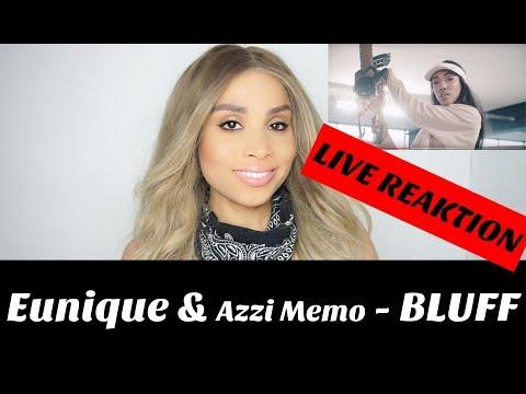 Eunique x Azzi Memo ► BLUFF ◄ Prod. by Michael live Reaktion