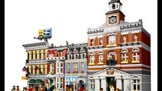 Lego 10224- Town Hall | Official Images!
