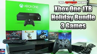 Xbox One 1TB Holiday Bundle Unboxing! (BEST HOLIDAY DEAL 2015)