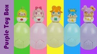 에그엔젤 코코밍 서프라이즈 에그 와 꼬마버스 타요 장난감 tayo and surprise eggs приключения таи