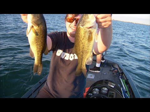 Hefner Bass Fishing With Dylan And Trevor