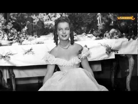 Sissi - Star Romy Schneider - Feier zum 16. Geburtstag - 1954