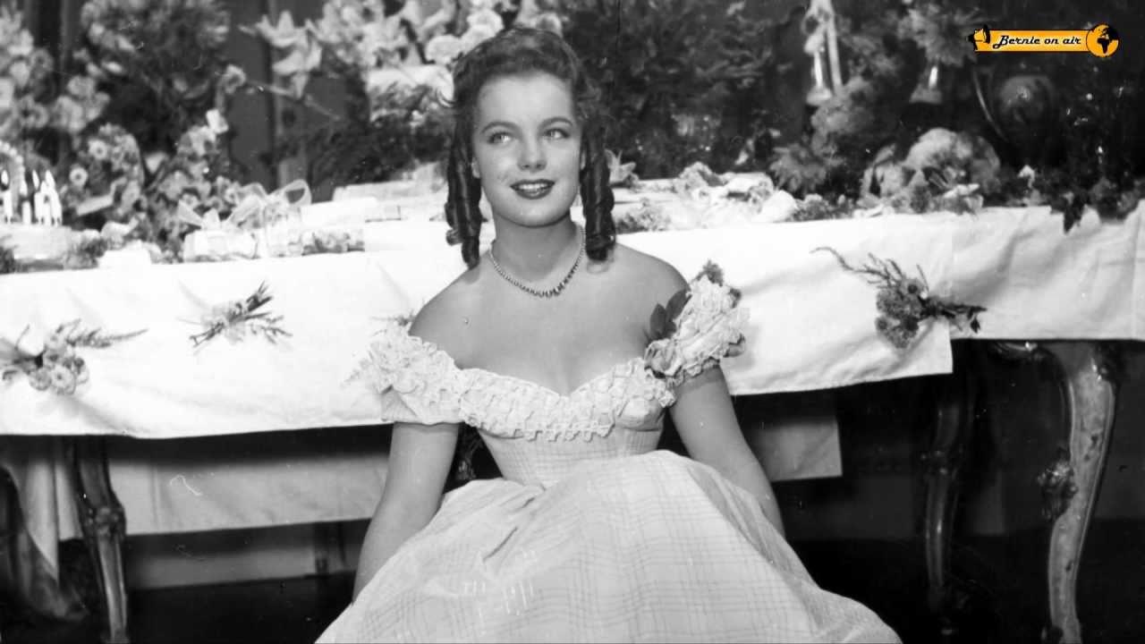 Sissi Star Romy Schneider Feier Zum 16 Geburtstag 1954 Youtube