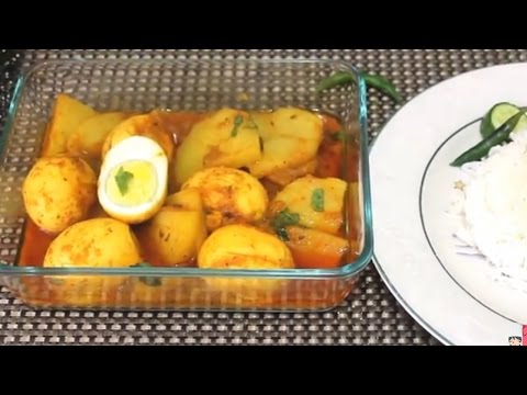 Egg Curry Bangali/Dim bhuna with Potato