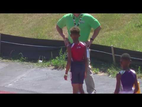 10yr Jonathan Simms 59.00s 400m Finals AAU Junior Olympics 2017