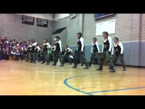 Branford High School Dance Team Hip Hop