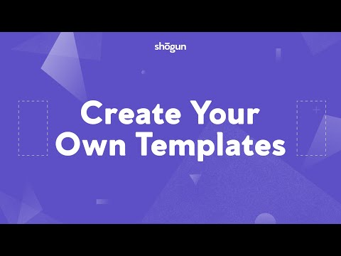 Creating Your Own Pre-made Page Templates with Shogun Page Builder