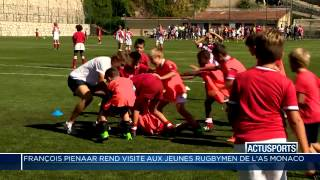 L'AS Monaco Rugby reçoit la visite de François Pienaar