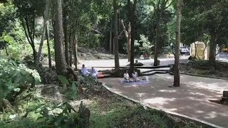 LIVE:  Before Giving Dhamma Talk, August 22, 2018.