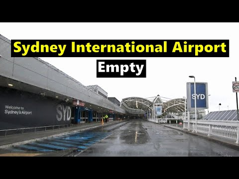 Driving To Sydney International Airport (May 2020) - Rainy Day In Sydney