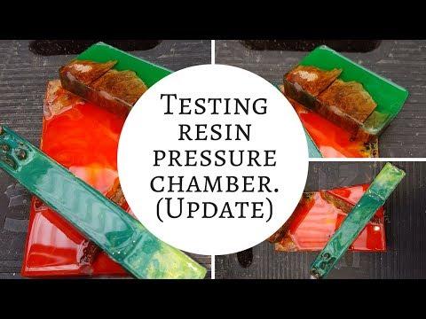 Testing resin pressure chamber (update)