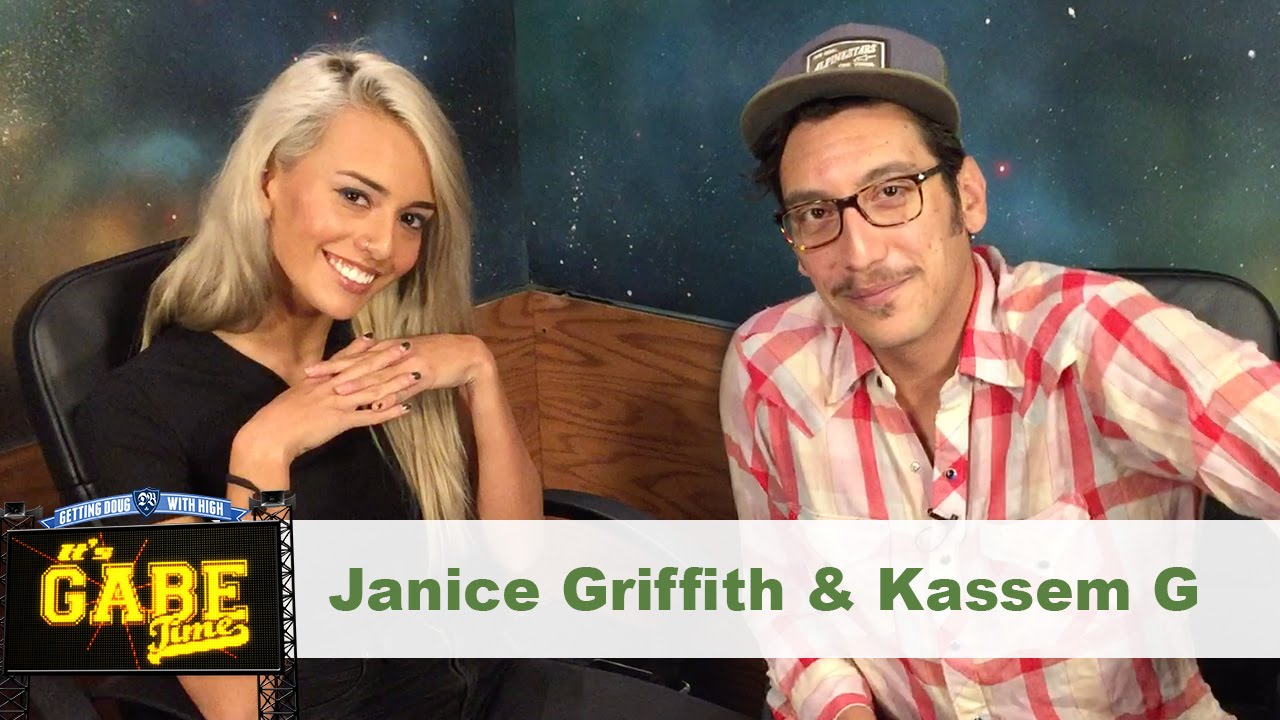 Post Sesh Interview W Janice Griffith Kassem G Getting Doug With High Youtube