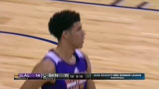 Quarter 1 One Box Video :Nets Vs. Lakers, 7/14/2017