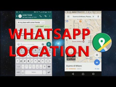 WhatsApp location: how to send gps location in WhatsApp!