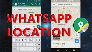 WhatsApp location: how to send gps location in WhatsApp!