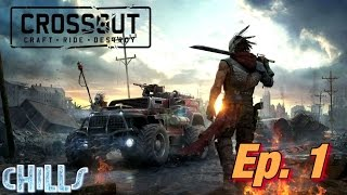 "Crossout Ep. 1 ""Got eeeemmm!!"" PC Gameplay Post Apocalyptic Battle Game"