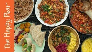 3 EASY VEGAN DINNERS