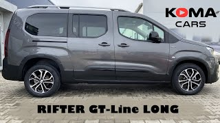 Peugeot Rifter Long (L2) 7 seater, GRIP CONTROL, 4K - walkaround, detail review, demonstration