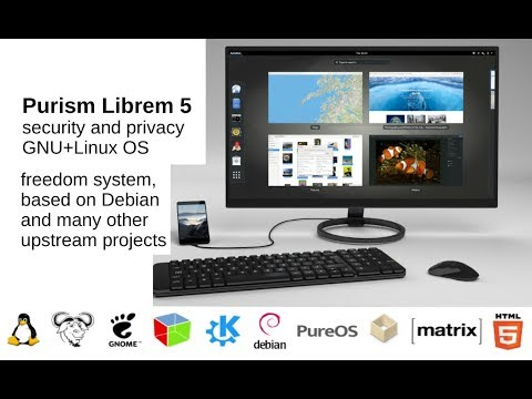 Purism Librem Debian phone, fully open source, Librem 11, 13