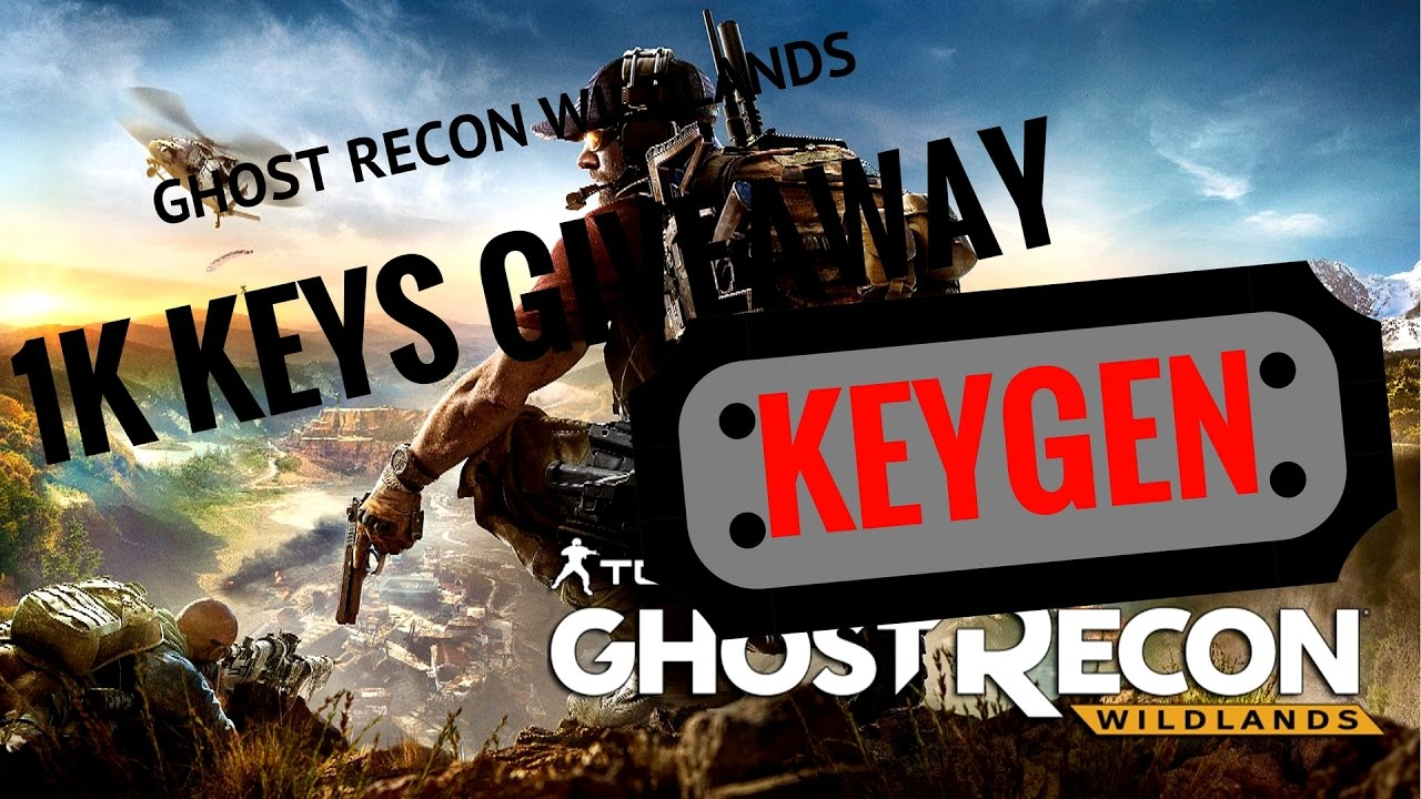 ghost recon wildlands key activation