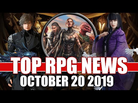 Top RPG News Of The Week - Oct 20, 2019 (Divinity Fallen Heroes, Lost Souls Aside, Nioh 2)