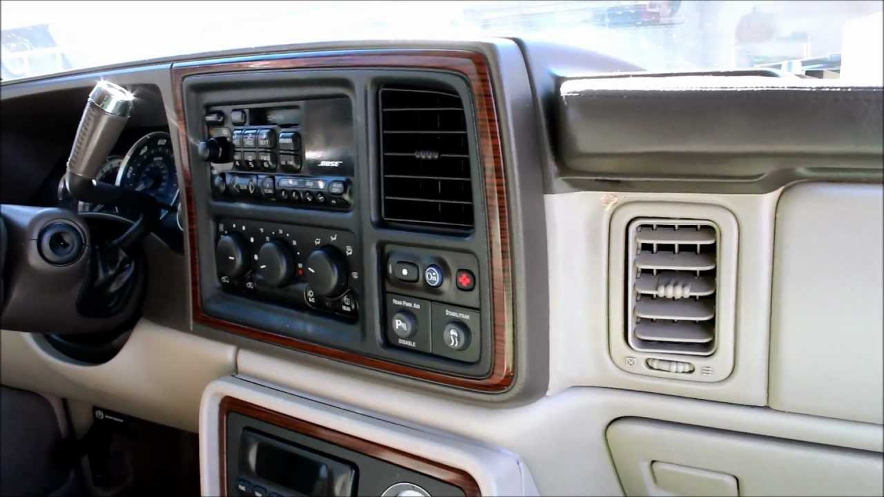 wiring schematic for a 2000 cadillac escalade [ 1280 x 720 Pixel ]
